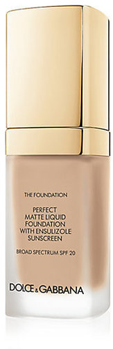 Dolce & Gabbana Matte Liquid Foundation