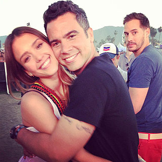 Celebrity Instagram Pictures From Coachella
