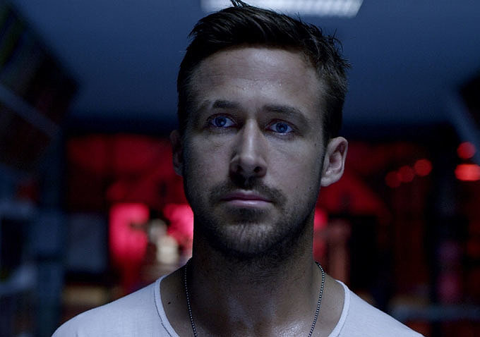 Not a shocker: up close and personal, Ryan Gosling is incredibly handsome.  Source: Bold Films
