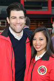 Max Greenfield put on a City Year jacket and came out in LA to support education on Saturday.