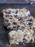 Chewy Fruit-Studded Granola Bars