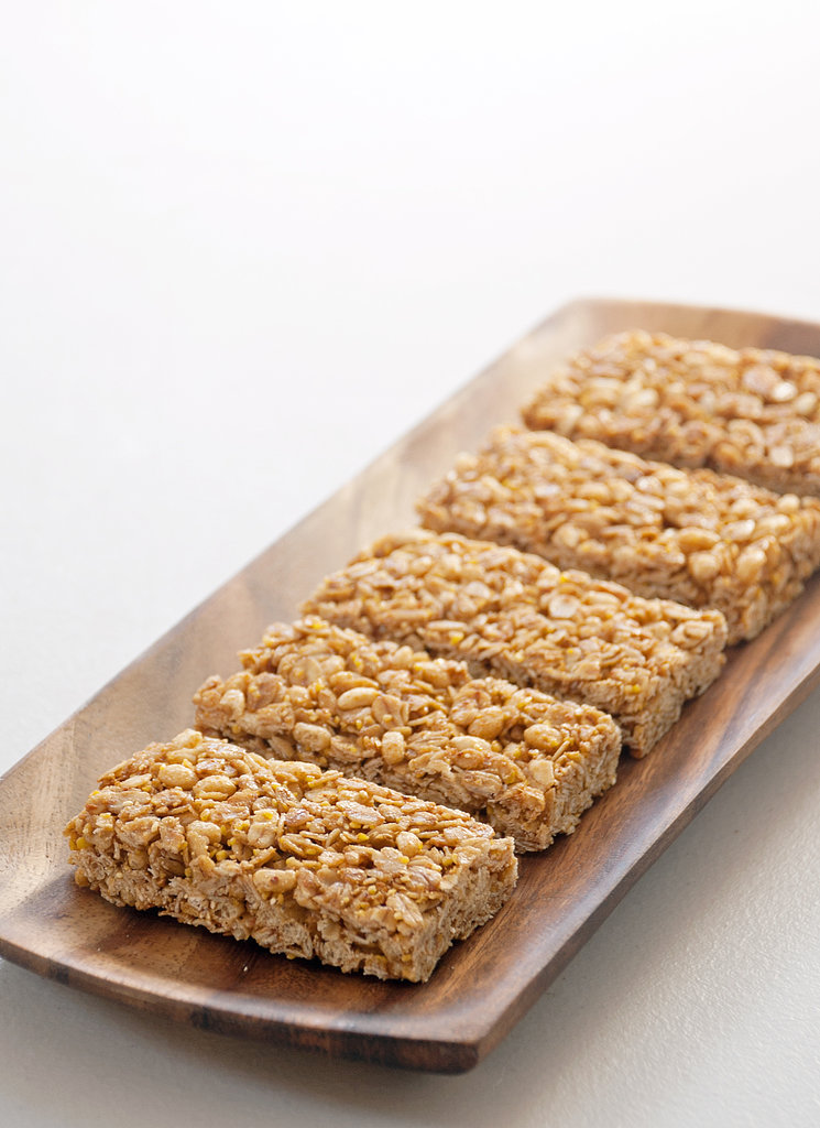 ... crunchy granola bars — for a sweet, snappy, and satisfying snack