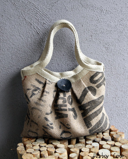 Eco-Friendly Burlap Tote