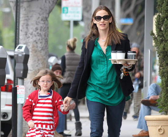 Jennifer Garner and Seraphina Affleck made a coffee run together in LA.