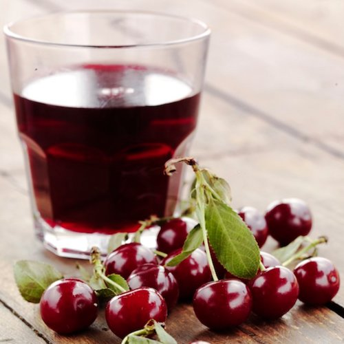 Cherry Juice Helps Sleep