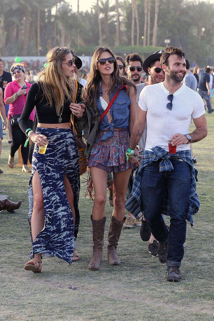 Alessandra Ambrosio and Jamie Mazur made the rounds in 2013.