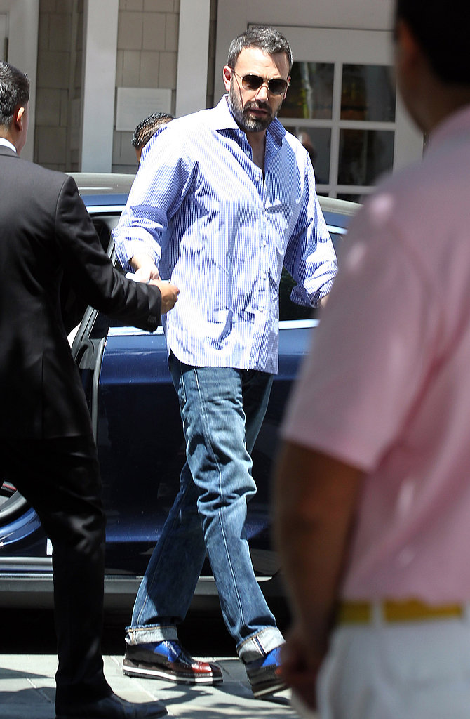 Ben Affleck dropped by Shutters in Santa Monica.