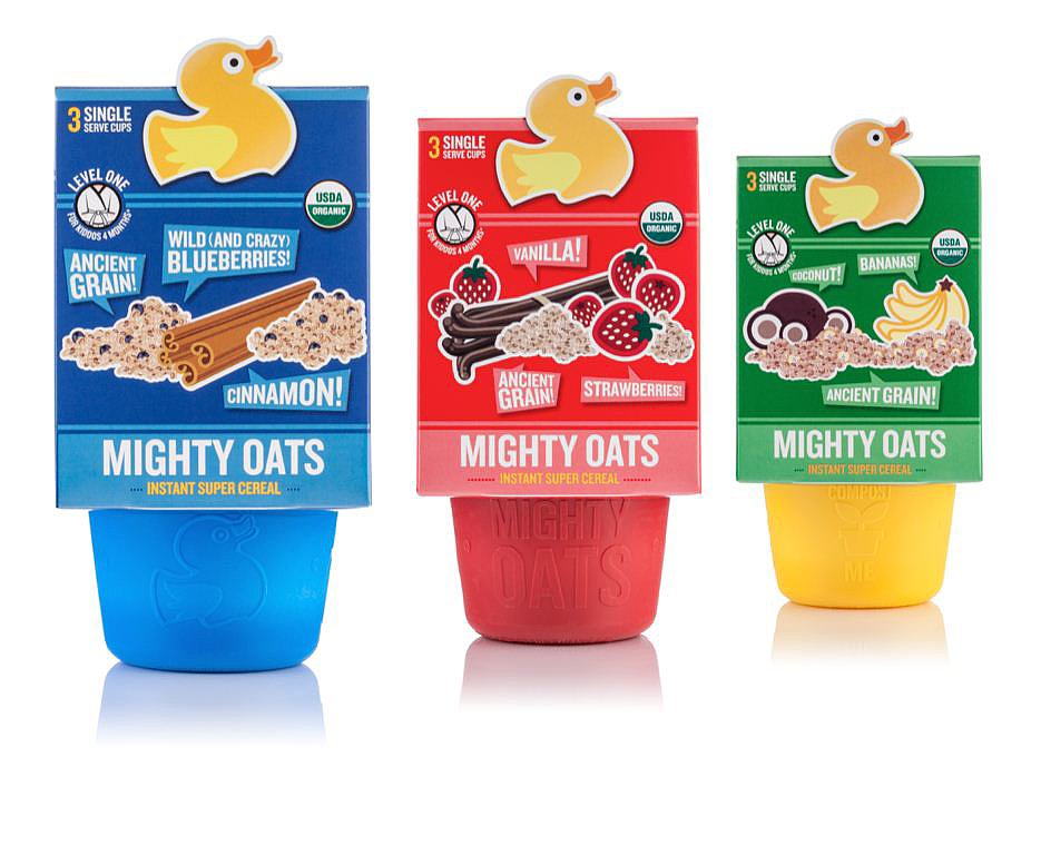 Little Duck Organics' Mighty Oats