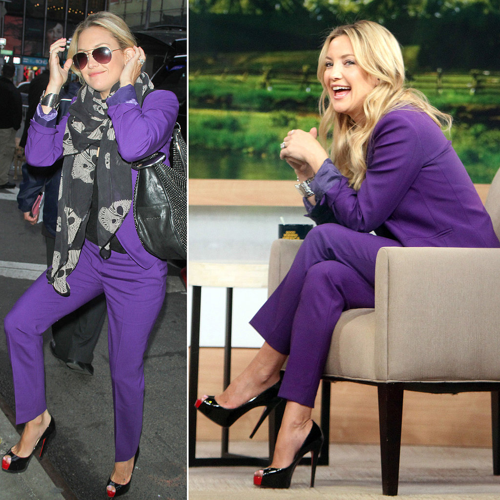 Kate Hudson Talks Balancing Motherhood and Preps For a New Movie