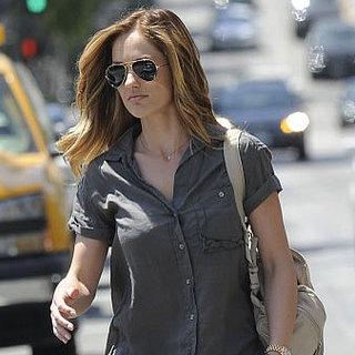 Minka Kelly Dyes Her Hair Blond | Pictures