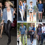 7 Days, 7 Ways: Remix Your Denim Shirt the Celebrity Way