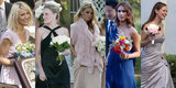 See Stars Walk Down the Aisle as Bridesmaids