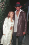 """Carmen Electra and Dennis Rodman were married in Las Vegas in November 1998 for only nine days before calling off the union. Carmen later compared her decision to marry Dennis is Vegas to """"getting a cheeseburger at a fast-food restaurant."""""""