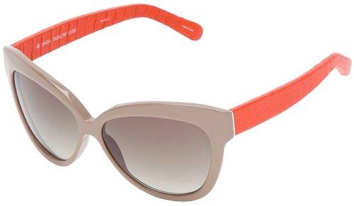 Linda Farrow Luxe retro snake sunglasses