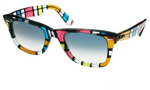 Ray-Ban Pattern Square Wayfarer Sunglasses
