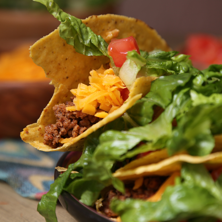 Ground Beef Tacos Recipe | POPSUGAR Food