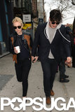 Carey Mulligan stepped out for lunch with her husband, Marcus Mumford.