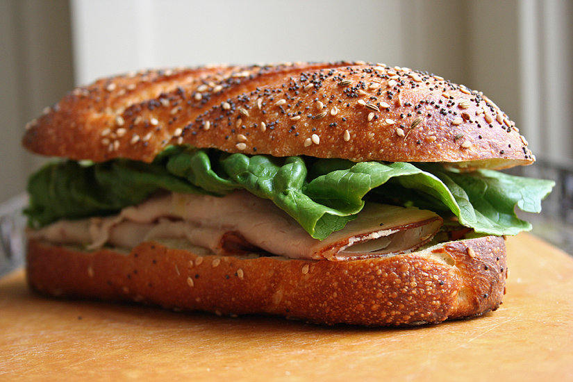 Road-Trip-Friendly Turkey Sandwich