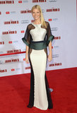 Gwyneth Paltrow wore an Antonio Berardi dress.
