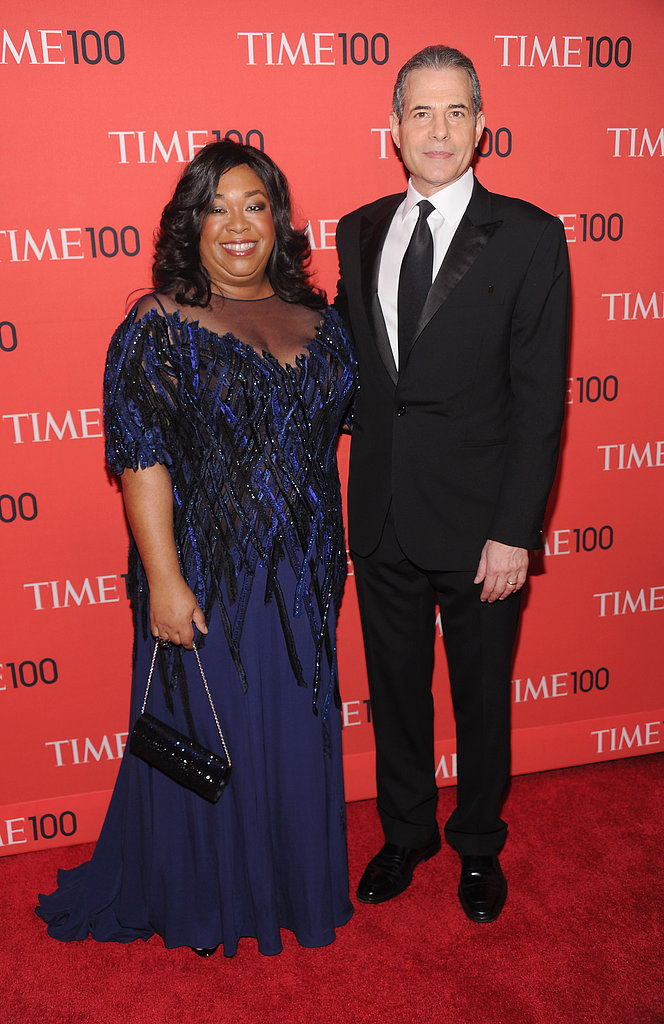Shonda Rhimes and Richard Stengel