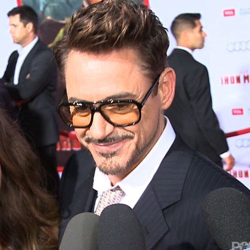 Robert Downey Jr. Interview at Iron Man 3 Premiere (Video)