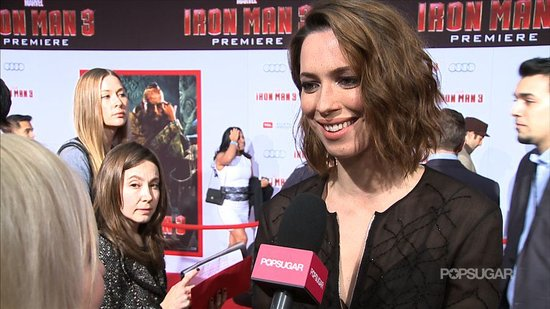 "Rebecca Hall Talks ""First-Day-of-School Nerves"" on the Iron Man 3 Set"