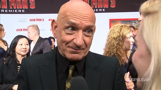 "Ben Kingsley Talks Portraying the ""Dark Side"" of Iron Man 3"