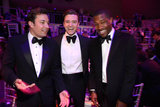 Jimmy Fallon, Justin Timberlake, and Frank Ocean joked around at the Time celebration for its 100 Most Influential People in the World.