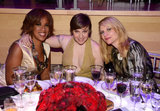 Gayle King, Lena Dunham, and Claire Danes paused for a smile.