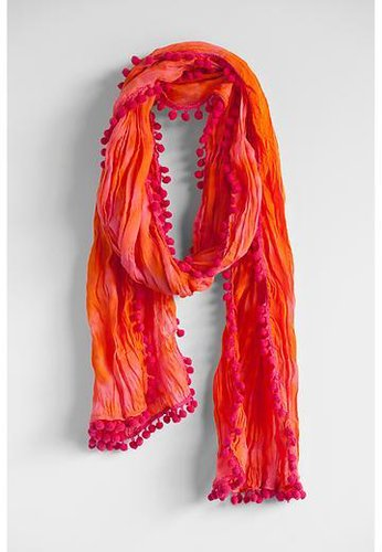 Pompom Scarf by Natural Life
