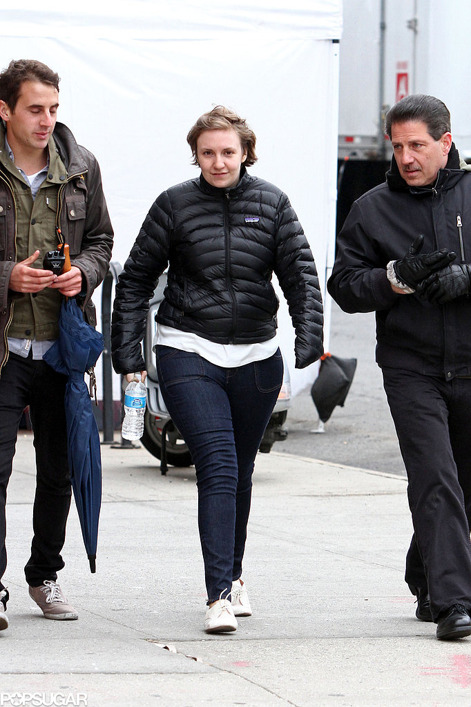 Lena Dunham Gets in the Birthday Spirit to Shoot Girls in NYC