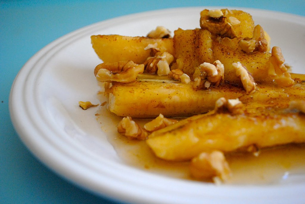 Honey-Fried Bananas