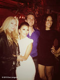 Eva Longoria and her Ready For Love cohosts partied the night away. Source: Eva Longoria on WhoSay