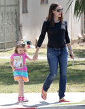 Jennifer Garner and Seraphina spent time together in LA on Thursday.