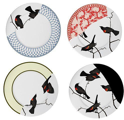 Areaware - Seconds Dinner Plates Set of 4