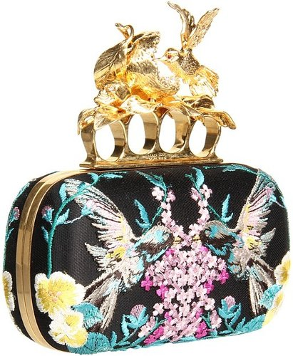 Alexander McQueen - Apple Bird Knuckle (Multicolor) - Bags and Luggage