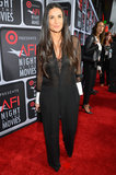 Demi Moore attended AFI's Night at the Movies.