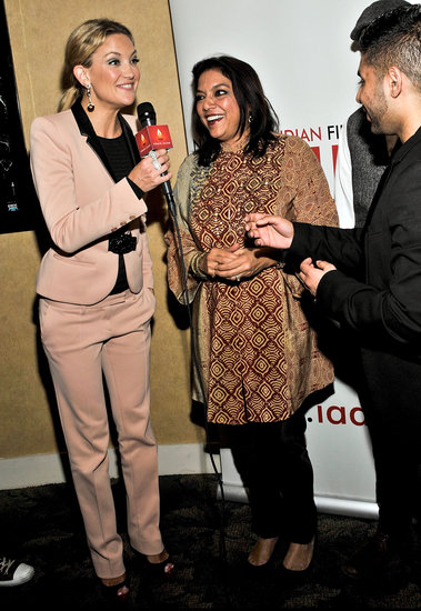 Kate Hudson chatted at the New York Indian Film Festival.