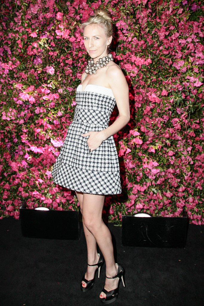 Mickey Sumner wore Spring 2013 Chanel at Chanel's Tribeca Film Festival Artists Dinner in New York. Source: Matteo Prandoni/BFAnyc.com