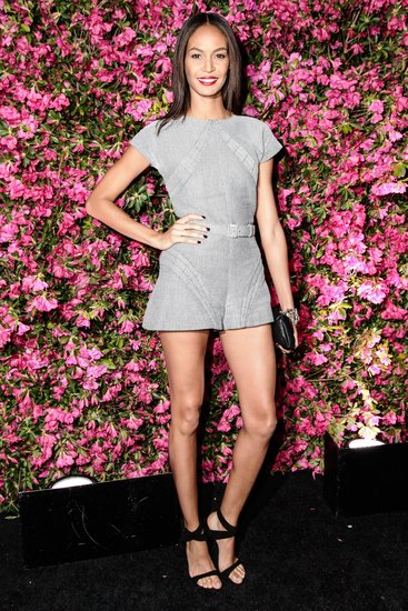 Joan Smalls wore Pre-Spring 2013 Chanel. Source: Matteo Prandoni/BFAnyc.com