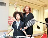 PSM: Have you ever considered adding a few pieces for boys to the collection? DVF: I know, I know. We should! But this is what they wanted, so it's just for the girls. Source: Leandro Justen, BFAnyc.com