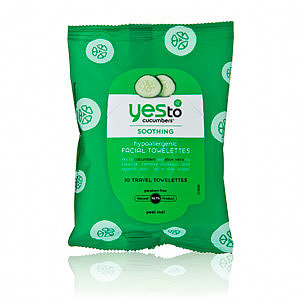 Yes To Cucumbers - Soothing Hypoallergenic Facial Towelettes