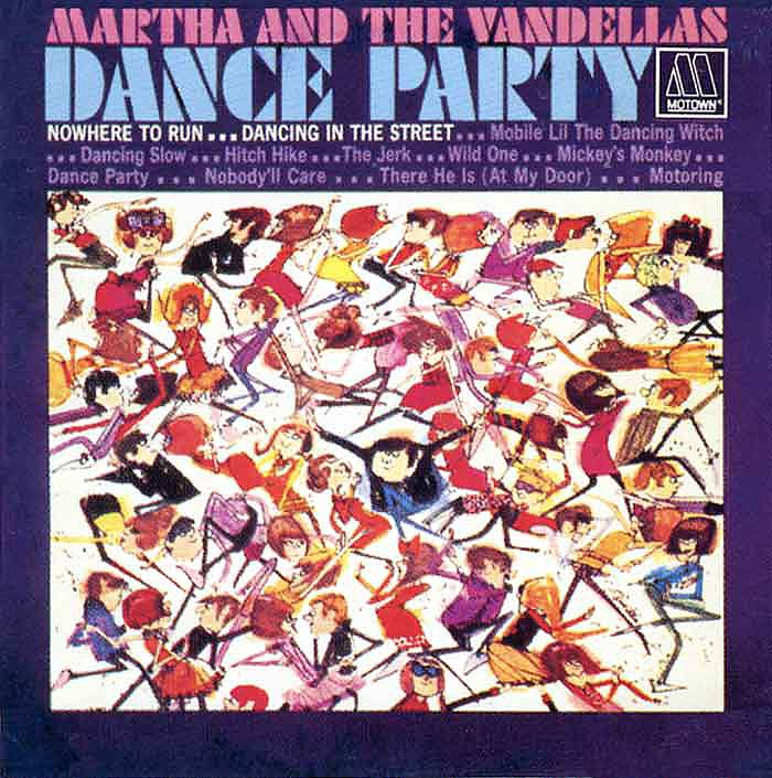 """Dancing in the Street"" by Martha and the Vandellas"