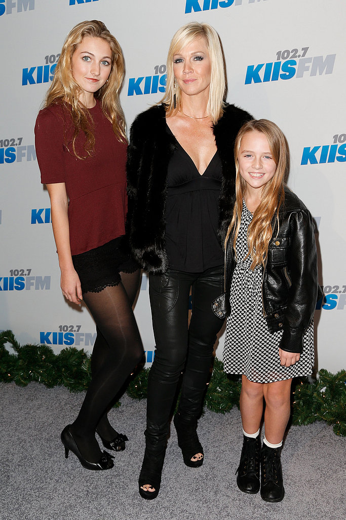 "Jennie Garth believes the best trick her mama taught her is . . .  ""It doesn't matter if the dishes are clean. It just matters that my kids are happy."""