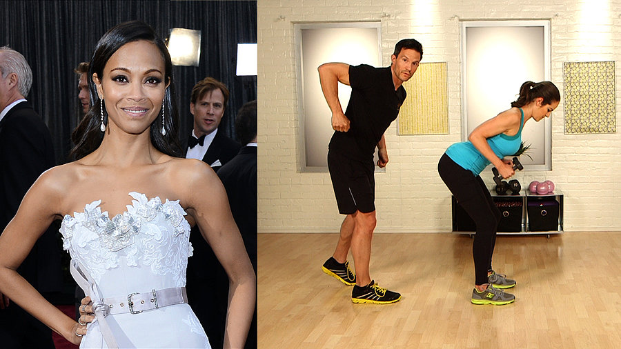 Get the Bod: Zoe Saldana's Upper-Body Workout