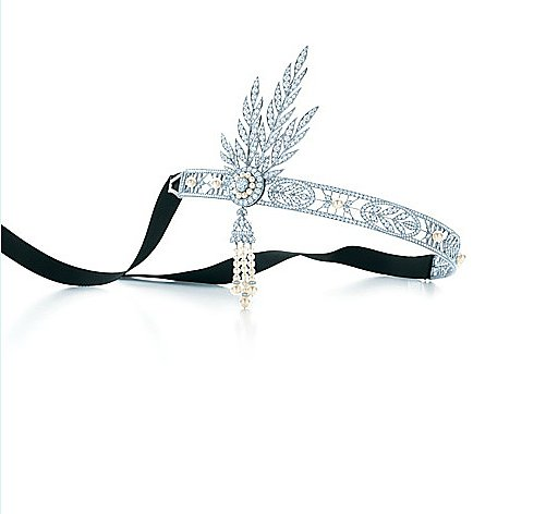 If you're seriously committed to getting the look, then we have the ultimate investment piece: Tiffany & Co's headpiece was crafted exclusively for The Great Gatsby.