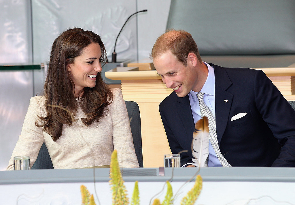 Kate Middleton and Prince William had plenty to laugh about during a July 2011 trip to Canada.
