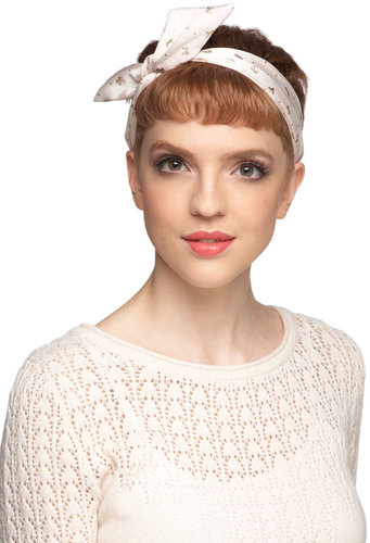 Through the Wire Headband in Bows