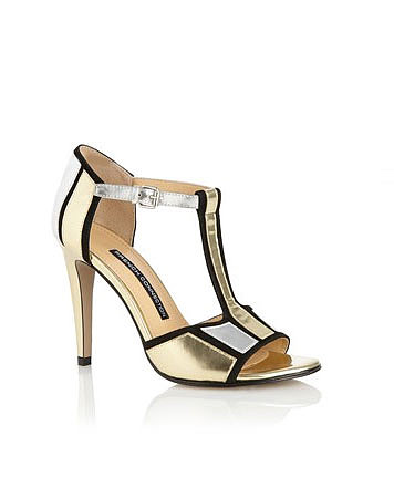 To complete your going-out ensemble, you'll need the quintessential Gatsby-era footwear — a great pair of t-strap heels, like these French Connection Nicky T-Bar Heels ($140), to dance the night away.