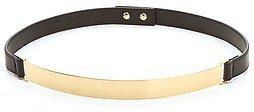 Nicholas Roxanne Thin Gold Plate Belt